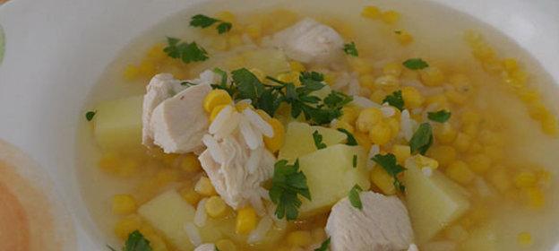 Суп с кукурузой рецепт пошагово
