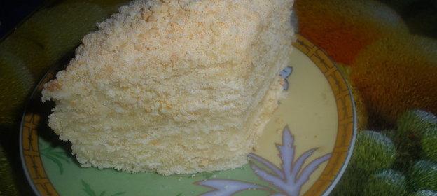 Рецепт торта сказки с фото