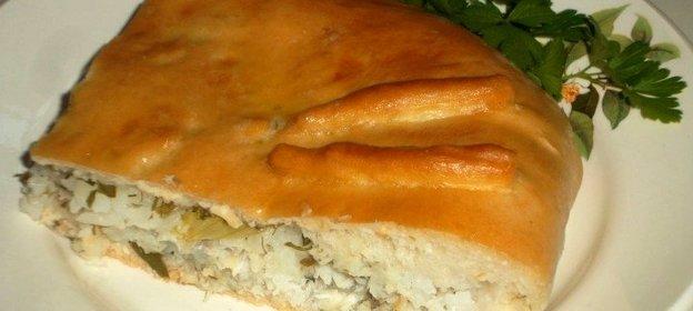 Пирог с щуки рецепт с пошагово