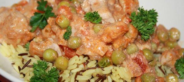 Рецепт вкусного риса в соусе на гарнир 125