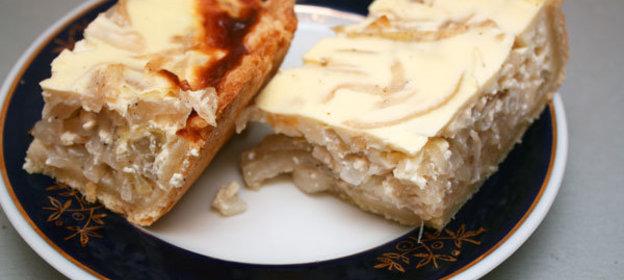 Пирог на сметане рецепт с с рыбой