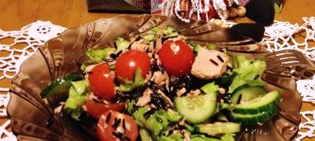Салат с рисом - 72 рецепта 46