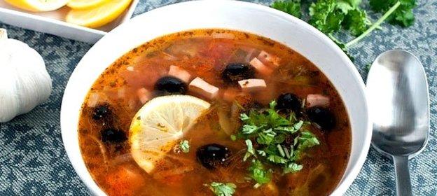 Вкусная солянка рецепт с фото пошагово