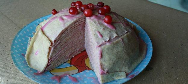 Рецепт вкусного блинного торта пошагово
