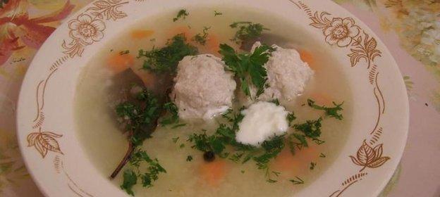 Как приготовить пошагово суп с фрикадельками с пошагово