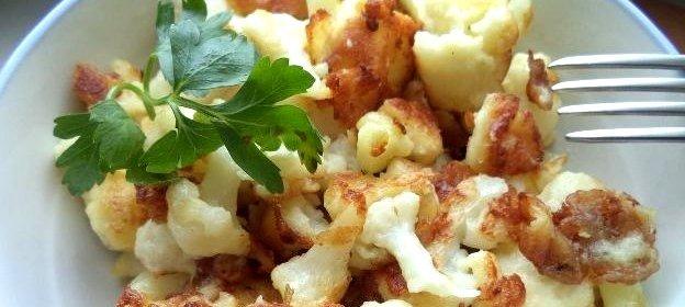 приготовить замороженную цветную капусту вкусно