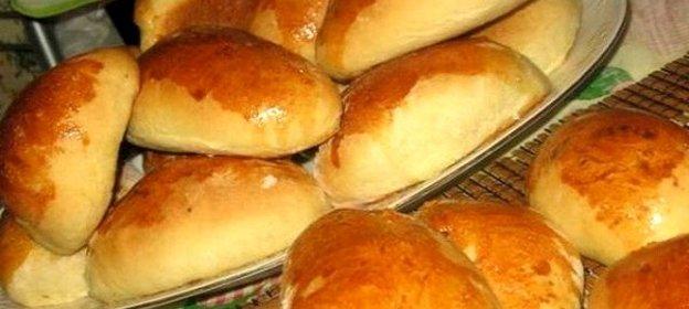 Рецепт пирожков с печенью и рисом в духовке пошаговый рецепт с