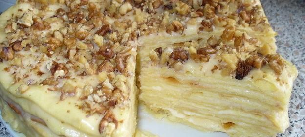 Рецепты тортов в домашних условиях наполеон с пошаговыми