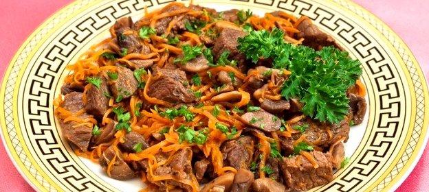 Жареное мясо рецепт пошагово с