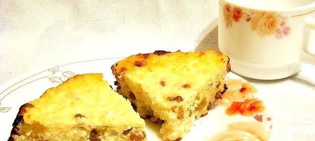 Творожно рисовая запеканка пошаговый рецепт с