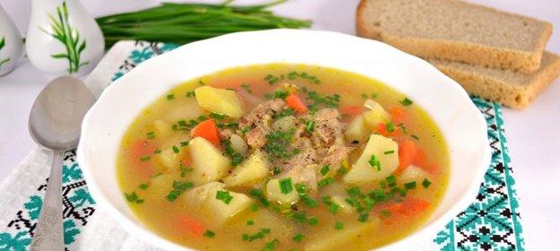 Суп со свининой - питательно и со вкусом: рецепт с фото и видео