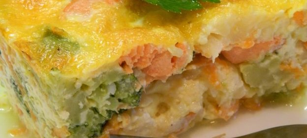 Рецепт овощная запеканка пошагово с фото