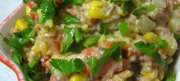 Салат с рисом - 72 рецепта 8