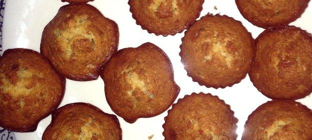 Кексы с орехами рецепт с пошагово