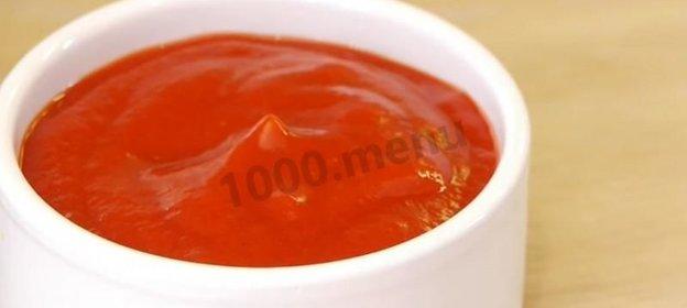 Кетчуп домашний из томатной пасты рецепт с пошагово в