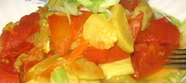 Овощи в мультиварке рецепты с фото простые и вкусные
