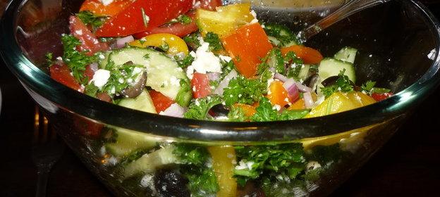 Грузинский салат рецепт классический с пошагово