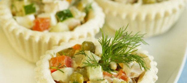 Салат оливье в домашних условиях рецепт с пошагово