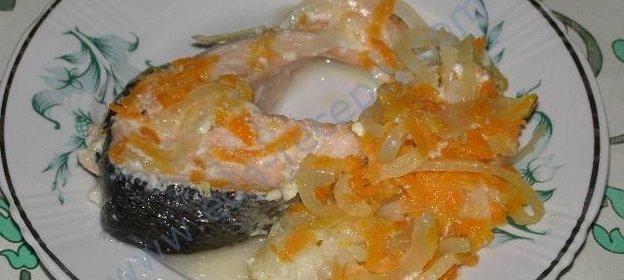 Сёмга в духовке рецепты с пошагово