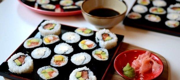 Суши в домашних условиях пошаговый рецепт простой рецепт