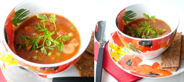 Суп со спаржей рецепт с фото