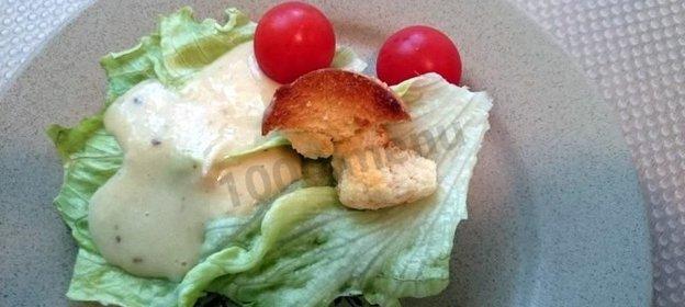 Рецепт соуса цезарь в домашних условиях с фото пошагово