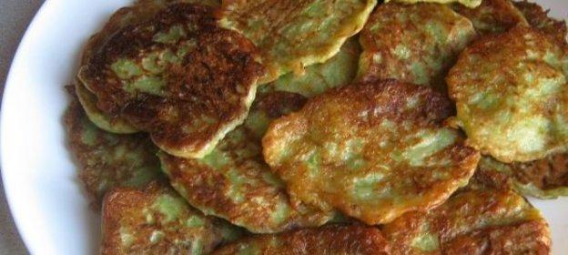 Оладьи постные из кабачков рецепт с пошагово