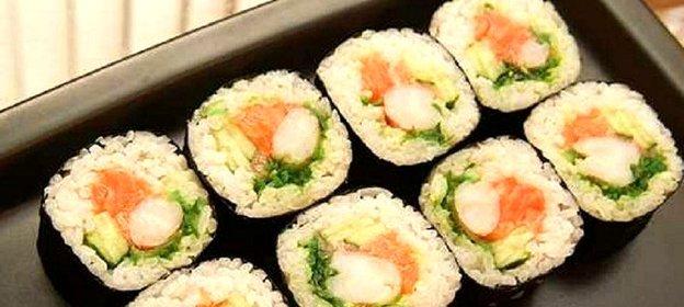 Я за суши салат с креветками