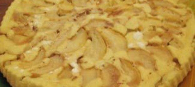 Яблочный пирог домашний простой рецепт с пошагово