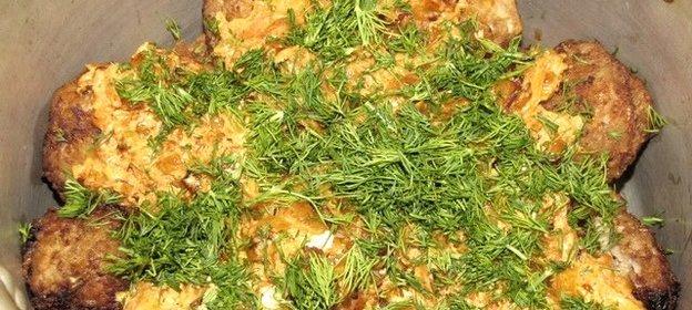 Ленивые голубцы в казане рецепт с фото пошагово