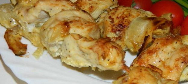 Самса с курицей из слоеного теста в духовке рецепт пошагово
