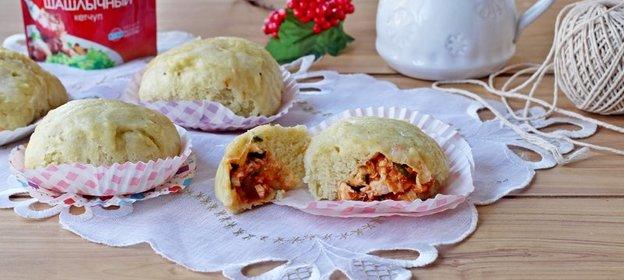 Китайские булочки на пару рецепт пошагово