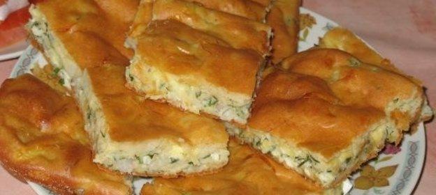 Капустный заливной пирог рецепт с фото