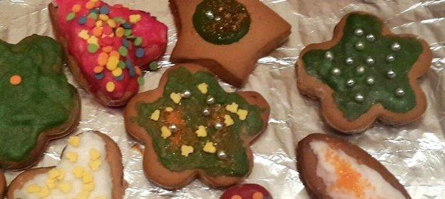 новогодние печенья рецепт фото пошагово
