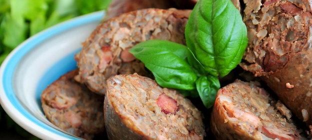 Колбаса печеночная с гречкой рецепт с пошагово