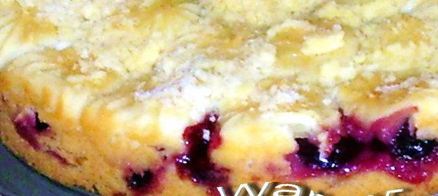 пирог со свежей сливой рецепт с фото