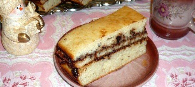 Пирожное пошагово