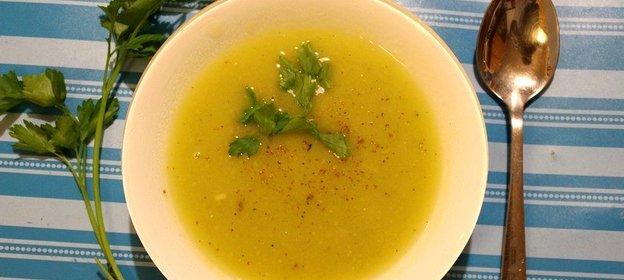 Суп-пюре с сушеными грибами рецепт с пошагово