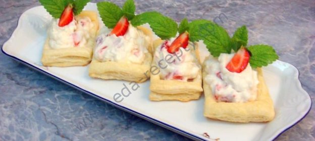 Рецепт тарталетки с начинкой рецепты со сладкой начинкой