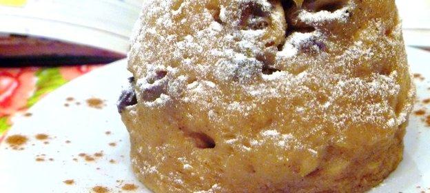 Рецепт кекса с изюмом пошагово с