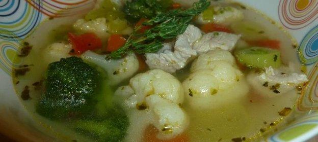 Суп овощной из индейки рецепты