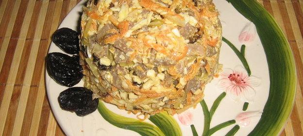 Салат из сердце рецепт