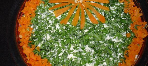 Рецепты мясных салатов с фото 2011