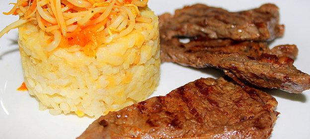 Приготовление гарниров к мясу