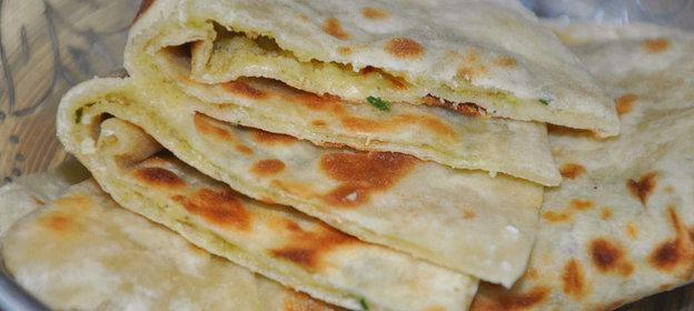 Индийские лепешки с картошкой рецепт с фото