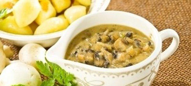 Сливочно грибной соус из шампиньонов рецепт