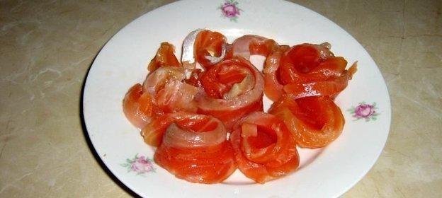 рецепт соленой форели в домашних условиях фото