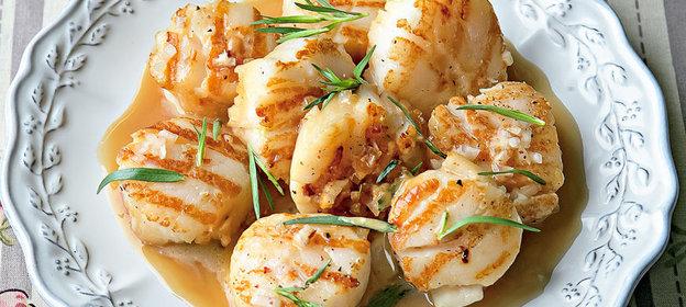 Морской гребешок жареный рецепты