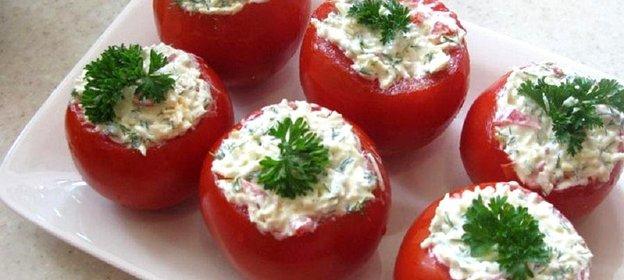 Фаршированные помидоры рецепт пошаговый с фото