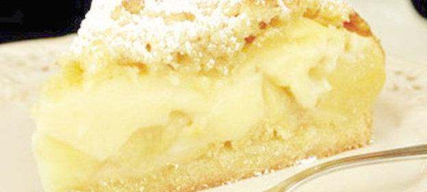 Шарлотка творожная в мультиварке с яблоками рецепт с фото